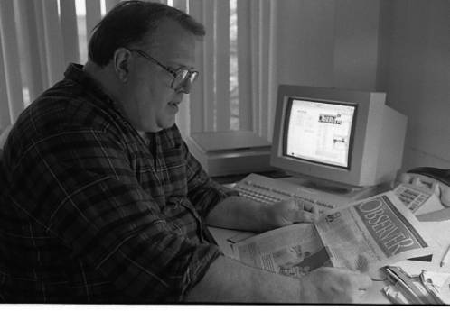 Gregory J. Conroy, Observer editor 1988-1999