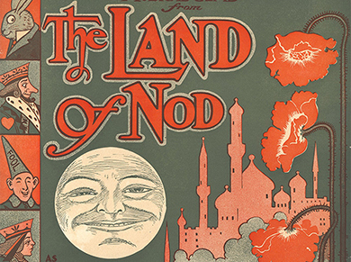 Cover from Land of Nod music book