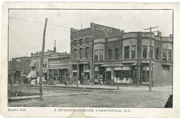 photograph of stores