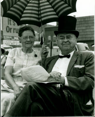 Bruce Cheadle and his wife Hazel