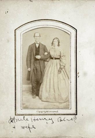 Carte De Visite Of Henry Black And Wife