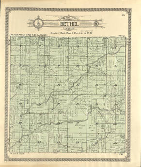 Millikin Campus Map.Mcdonough County Plat Maps 1913 Regional Maps Collection Western