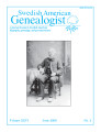 Swedish American Genealogist Vol. 26, No. 2