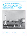 Swedish American Genealogist Vol. 27, No. 2