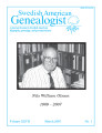 Swedish American Genealogist Vol. 27, No. 1