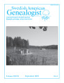 Swedish American Genealogist Vol. 27, No. 3