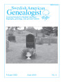 Swedish American Genealogist Vol. 30, No. 2