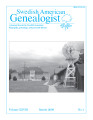 Swedish American Genealogist Vol. 28, No. 1