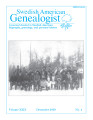 Swedish American Genealogist Vol. 29, No. 4
