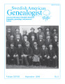 Swedish American Genealogist Vol. 28, No. 3