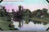 'Along South Branch, Lisle, Ill.'