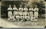 'Juniors Base-ball team, '21'