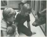 Children and wolf