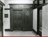 Safford doorway