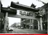 Gateway to Chinatown in Chicago