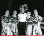 Big Four Quartette on Danny Thomas show, Peoria (Ill.)