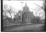 Hale Church at Main and High about 1900