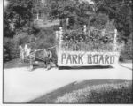 1917 Park Board Float
