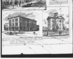 Drawings - Old High School State House Square and Old Library