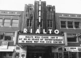Closing of the Rialto