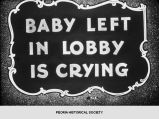 """Baby Left in Lobby is Crying""."