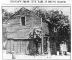 Peoria's First City Jail.