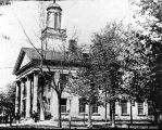 Peoria's First Court House.