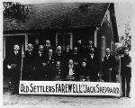 Old Settler's Farewell to Jack Sheppard in Peoria, Illinois.