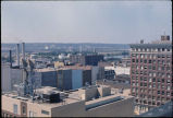 Peoria, Illinois, looking south from the Lehmann Building.