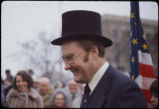 Lincoln Heritage Trail Ceremony in Peoria, Illinois in February, 1978.