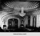 Interior of the Palace Theater in Peoria, Illinois.