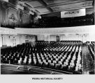 Interior of the Rialto Theater in Peoria, Illinois.