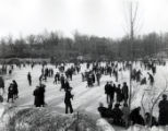 Ice Skating on the Glen Oak Park Lagoon (2 of 2)