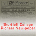 Shurtleff Pioneer Student Newspaper (Southern Illinois University Edwardsville)