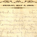 William R. Townsend Civil War Diary (Southern Illinois University Edwardsville)