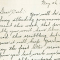 Carl Lorimer and Mabel Anderson Letters, Swenson Center (Augustana College)