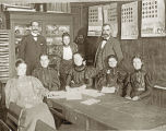 Faculty at Cook County Normal School, ca. 1870s