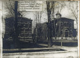 Lewis School, Champlain [Champlin] School, and Englewood High in 1889