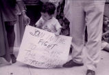 Young protestor #1