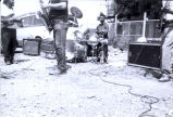 Old School Band playing on street
