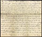 Emily Hart letter to Clarence Hart, 1884-10-16