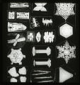 Snow Crystals - Tabular, Columnar, Compound, Granular, etc., Types