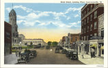 State Street, looking west, Lawrenceville, Ill.