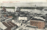 Bird's-eye view, Court Street, west end, Illinois River, Pekin, Ill.