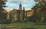 Administration building, Western Illinois State Teachers College, Macomb, Ill.