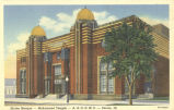 Shrine Mosque, Mohammed Temple, A.A.O.N.M.S., Peoria, Ill.