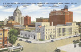 U. S. post office and court house from Monroe St. and Hamilton Blvd., Peoria, Ill.