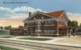 Big Four depot, Mt. Carmel, Ill.