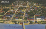 Aerial view of Quincy, Illinois