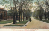 Burrill Ave., looking south, University of Illinois, Urbana, Ill. : woodshops, foundry and entrance to